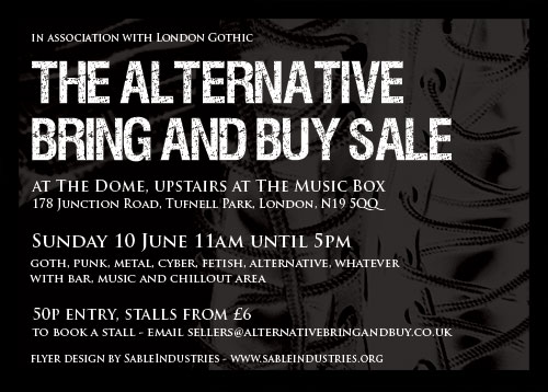 Alternative Bring and Buy sale, London - 4 December 2016 (flyer)